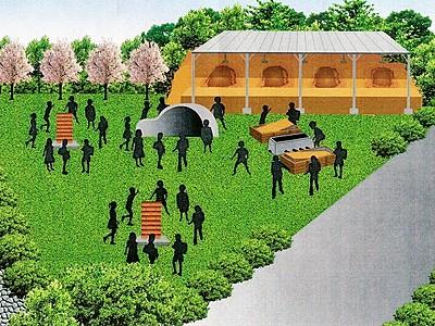 製鉄遺跡をミニパークに あわら住民有志、5月オープン