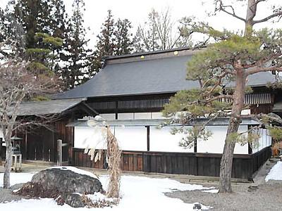 そば切り、歴史・文化学んで 最古の記録残る大桑・定勝寺で3月