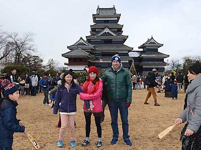 「松本城≠石造りキャッスル」驚き 世界遺産登録へ調査