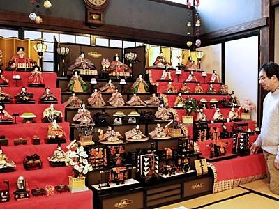 小須戸ひな・町屋めぐり 住民、家に眠る人形提供 新潟
