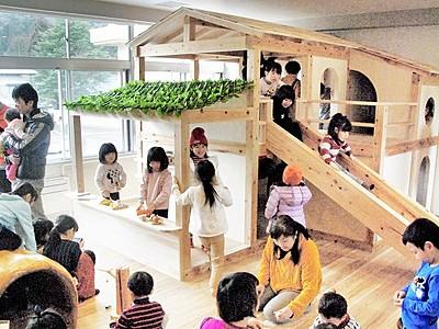 木育ルームがプレオープン 坂井市竹田、元学校を改修
