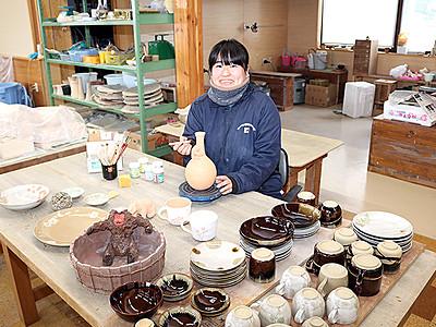 埼玉から移住6年、初の作陶展 21日から富山大和