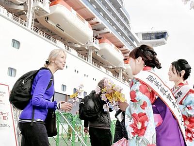 D・プリンセス敦賀寄港4回に 20年、過去最多