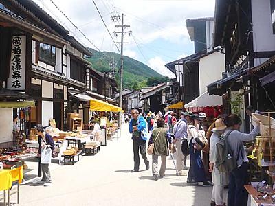 奈良井宿―木曽平沢にシャトルバス 塩尻市、木曽漆器もPRへ