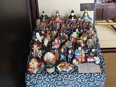 「土人形」に知るかつての暮らし 関川・渡辺邸で公開
