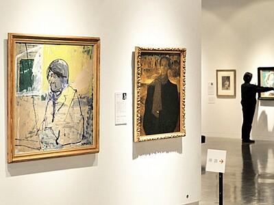 自画像展23日開幕 日本の洋画家中心 福井市美術館