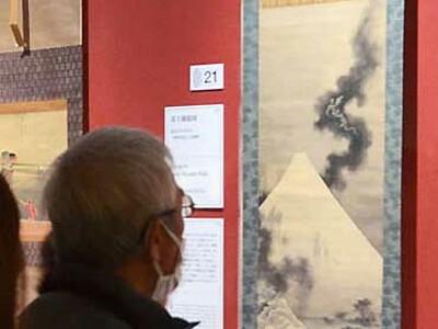 小布施の北斎館所蔵作品、目玉 都内で北斎研究第一人者企画の展覧会