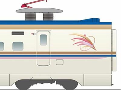 上越新幹線E7系 車両やシート展示 3月、新潟駅