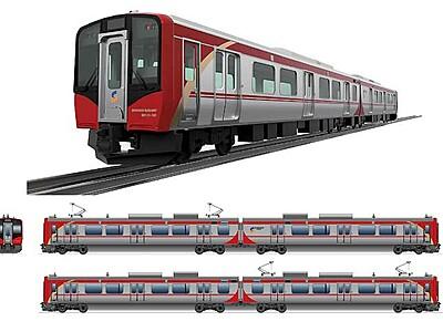 継承の「赤」、高原の「青」 しなの鉄道、新型車両デザイン発表
