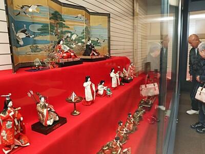 長岡 牧野家ゆかりのおひなさま あでやか藩主の伝統