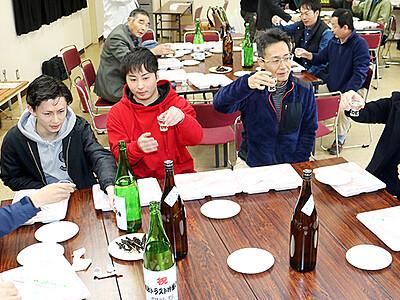 純米大吟醸 新酒で乾杯 成政トラストの会が開吟祭