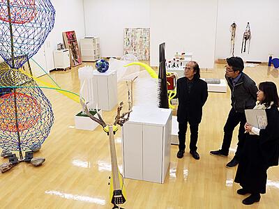 現代造形展2次審査50点通過 アートハウスおやべで4月20日から