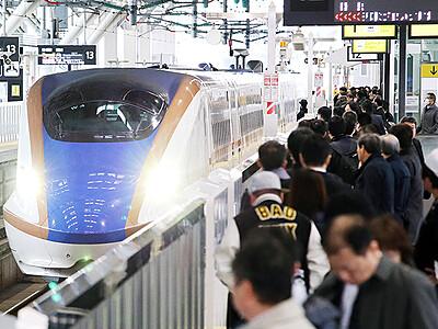 5年目の北陸新幹線快走 「利用客まだ伸びる」