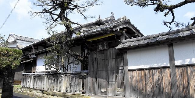 3月16~18日に特別公開される旧古河屋別邸=3月14日、福井県小浜市北塩屋