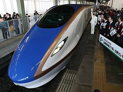 E7系出発のとき 上越新幹線デビュー
