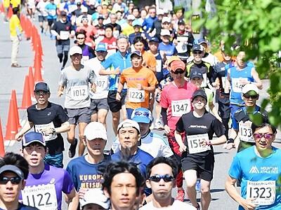 初夏のあわら駆けろ トリムマラソン 22部門参加募る