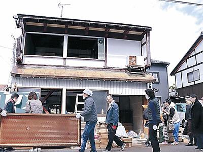 加賀で町家おくり 九谷作家の堀江さん宅
