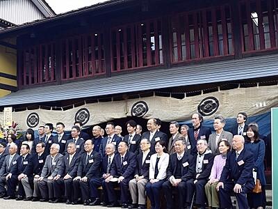 今庄宿の町並み守り10年 貴重な建物活用に貢献 福井県