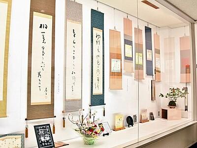 花鳥風月、武生花鳥俳句会60周年記念展