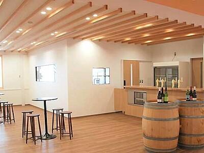 ワインやビール、試飲や展示 東御の発信拠点オープンへ