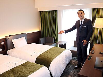 外国人客需要に照準 富山駅周辺でホテル開業続々