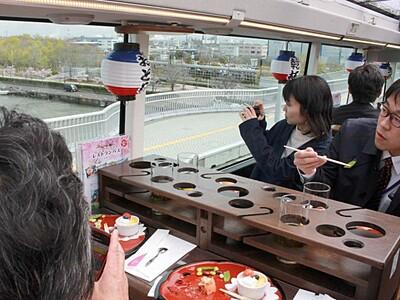 景色も食もごちそう レストランバス19日から運行 新潟