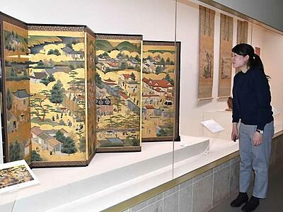 日中の技法、厳選作品展 諏訪のサンリツ服部美術館