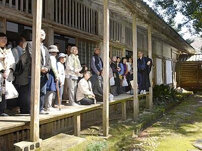庭園の美意識触れる 福井・大安禅寺など巡り
