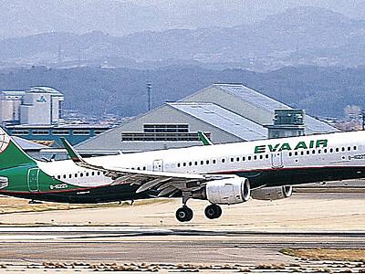 台北チャーター便到着 小松空港、29日まで15便