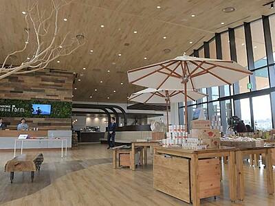 カゴメ体験型観光施設 富士見から野菜の情報発信へ