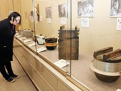 明治から昭和までの暮らしの変遷紹介 高岡市立博物館
