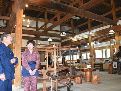 田舎暮らし体験、料理・内装一新 辰野「かやぶきの館」
