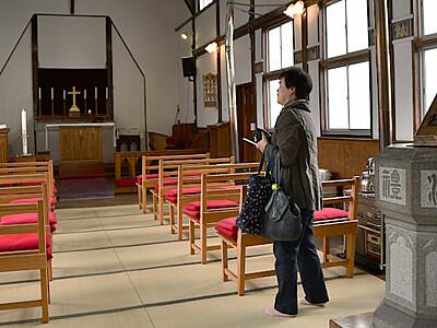 岡谷で製糸業の歩み伝えるフェア 工女迎えた畳の教会公開