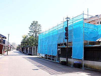 旧回船問屋観光拠点に 岩瀬の桝田酒造店、宮城家を再生