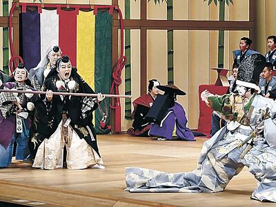 令和初、迫真の「勧進帳」 小松で「日本こども歌舞伎」開幕