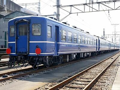 レトロ客車で快速運行 新津-会津若松 6月に4日間