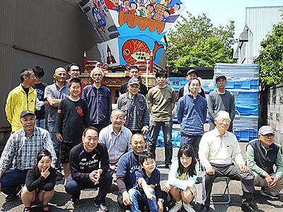 担い手不足、祇園町歴史に幕 17日から岩瀬曳山車祭