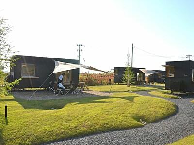 スノーピーク 新潟県内で宿泊・キャンプ設備常設 阿賀野
