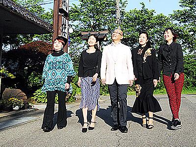 千本桜のぼんぼり復活を 福光・歓楽街ママが賛助者募集