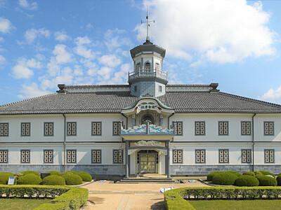 松本「旧開智学校」国宝に 擬洋風学校建築