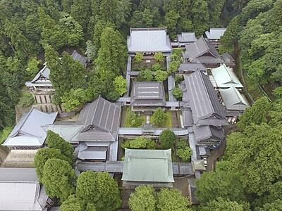 永平寺の19棟、重文に 福井県、曹洞宗の大本山