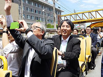 「スカイバス富山」運行開始 富山地方鉄道
