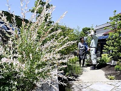 自慢の庭へどうぞ 福井・高浜でオープンガーデン