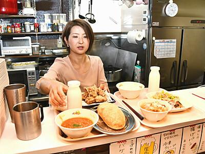 懐かしい「給食ランチ」 長野のカフェが人気