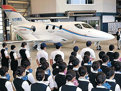 日本航空学園 ホンダジェット初配備