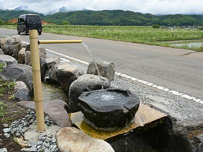 八ケ岳山麓の湧水、自由にどうぞ 茅野市が給水所