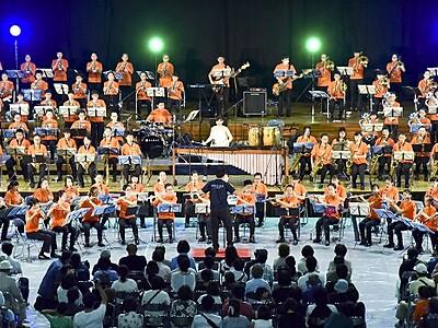 吹奏楽フェスに500人出演 鯖江、小中高生やプロ