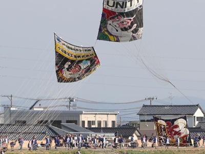 1800枚の熱戦期待 白根大凧合戦6月6日開幕 新潟
