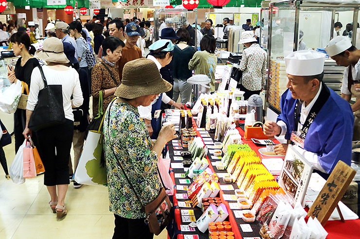 大勢の人でにぎわう大京都展=富山大和
