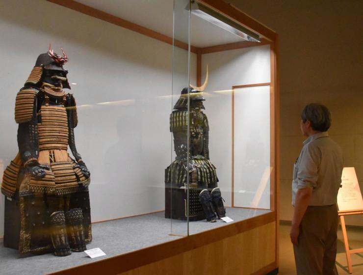 室町時代から江戸初期のものとされる甲冑